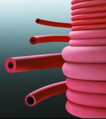 Slika za crevo gumeno crveno 3 x 1 mm
