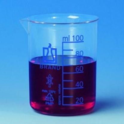 Slika za beakers,pmp,clear,low form,cap. 250 ml