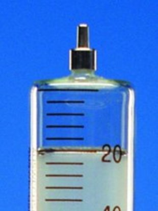 Slika za all-glass syringes,cap. 2 ml,glass cone,