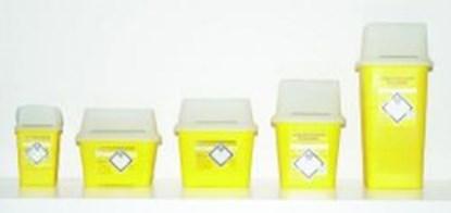 Slika za Disposal Container SHARPSAFE<SUP>®</SUP>, PP