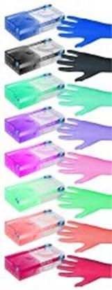Slika za nitrile gloves red pearl size s