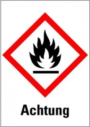 "Slika za hazardous material symbols ""warning: ign"
