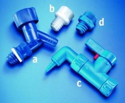 Slika za adapter, ldpe, blue