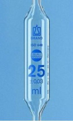 Slika za volumetric pipet 20 ml, with 2 marks