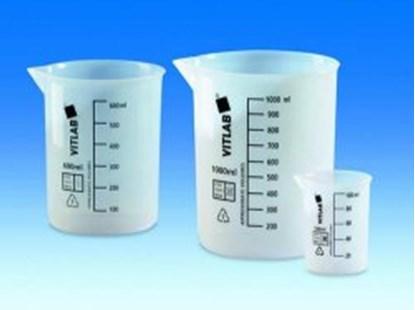 Slika za beakers,etfe,low form,cap. 50 ml,graduat
