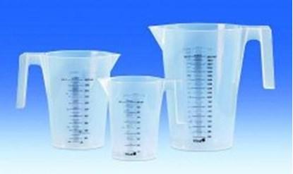 Slika za set measuring beaker 500 ml, pp,