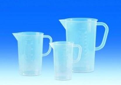 Slika za measuring jugs 5000ml, pp, with