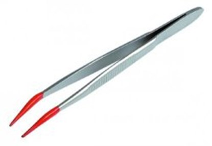 Slika za stainless steel tweezers 105 mm