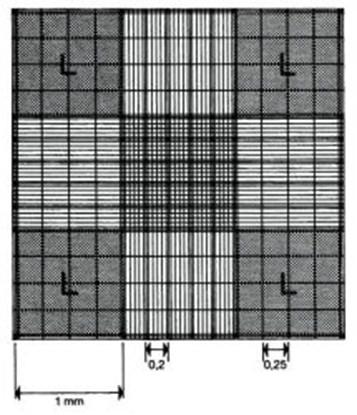 Slika za neubauer improved counting chamber,doubl
