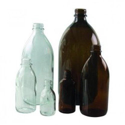 Slika za narrow neck bottles, amber glass