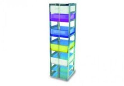 Slika za rack, 8x1 boxes 75 mm