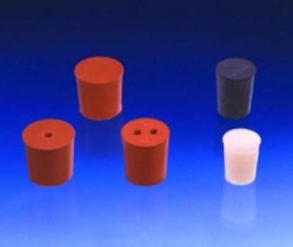 Slika za rubber stoppers red 105mmfi base diam