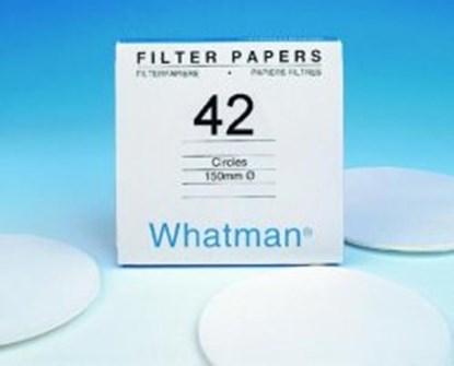 Slika za filter papir, kvant,dia 185,plava traka