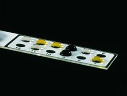 Slika za diagnostic slides, 75x25x1 mm, white