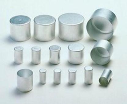Slika za alu caps,aluminium,14 x 25 mm high,pack
