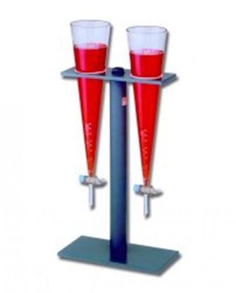 Slika za stalak za 2 imhoff- levka sa slavinom