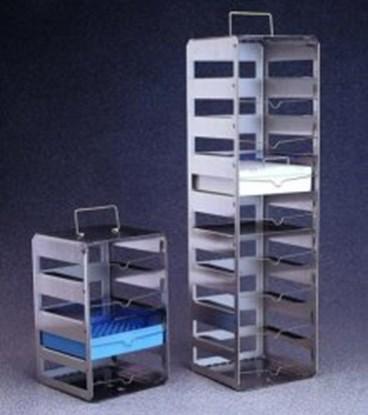 Slika za cryobox racks,st.steel,4 shelves