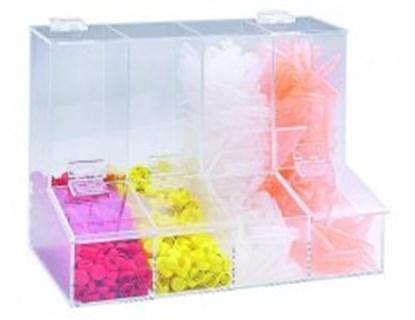 Slika za acrylic-dispensing box with lid