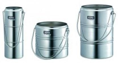 Slika za dewar vessels,chrome steel,cap. 1 ltr,