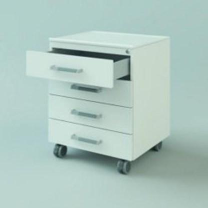 Slika za u/b mobile cabinet, 450x740x516, 1 door